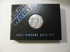 STAR WARS 2007 30TH VINTAGE COIN SET MAIL AWAY