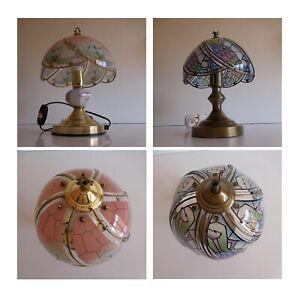 2 Lamps Chevet Good Laurel Osoo Vintage Deco Art Nouveau N3736