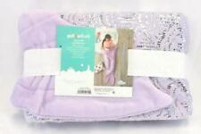 Pillowfort Mermaid Tail Blanket Light Purple Lilac 66 x 50