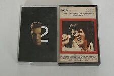 Elvis Presley Elvis 2nd To None & A Legendary Performers Vol. 1 Music Audio Cass