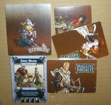 Massive Darkness & Black Plague Crossover Card Pack New w/ Corrected Cards