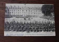 CPA Militaire Cavalerie Saumur Caroussel de troupe la poursuite équitation