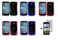 Alcatel One Touch Pop Mega LTE A995G (Straight Talk) Hybrid Case+S.P