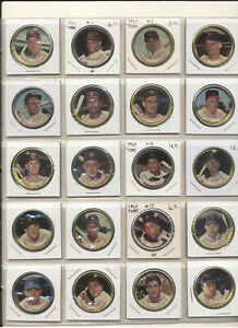 1964 Topps Coins Complete Set 1-164! Mid grade with (3) Mantles! 165 coins! VGEX