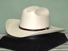 STETSON LA CORONA GENUINE 500X SHANTUNG PANAMA STRAW COWBOY WESTERN HAT