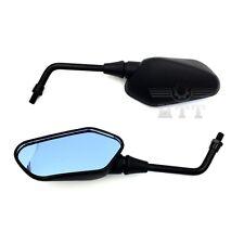 Mirrors Blue Glass 10mm bolts For Universal Motor Kawasaki Z1000 Z750 Versys