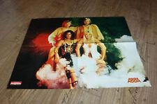Das Freizeit Magazin Superposter ABBA - Kalender Queen Januar