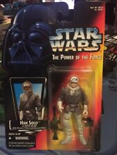 Star Wars Han Solo Hoth Orange Kenner Power Of The Force POTF2 MOC .00 OPEN HAND