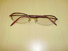 Valentino Made In Italy Red Lady's Eye Glasses Frames 135 / 5336 / J22