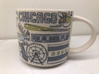 2018 Starbucks Been There Series Chicago 14 oz Coffee Tea Collectors Mug Cup ☕️