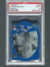WAYNE GRETZKY 1996 SPx #39 RARE SAMPLE PSA 9 MINT  Pop 9