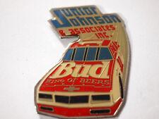 Budweiser  #11 Racing Pin ,  Junior Johnson & Associates Racing Team Pin