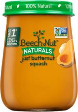 BEECHNUT NATURALS JAR BABY FOOD * Apple & Pumpkin * Mango * Squash * 12 JARS