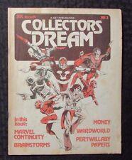 Collectors Dream Magazine #3 Vg 4.0 Marvel Continuity