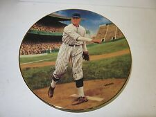 "Vintage DELPHI ""Walter Johnson The Shoutout"" Legend of Baseball LE Plate by Jeff"
