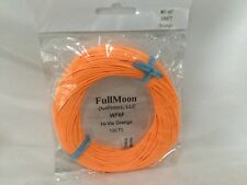 Wf6F Orange 100ft Fly Line By Fmo Free 10-Pack of Tippet Rings & Tapered Leader!