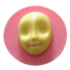 Mysterious face cooking tools Silicone Fondant Gum Paste Mold Cake Decorating