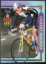 Tour de France   Festina  Laurent Brochard     Photo Card VGC