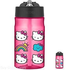 Thermos 12 Ounce Tritan Hydration Bottle, Hello Kitty School Hydration Bottles