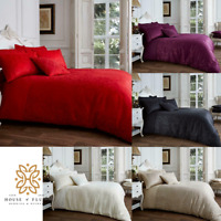 Luxury Vincenza Jacquard Polycotton Duvet Covers with Pillow Cases Hot Sale