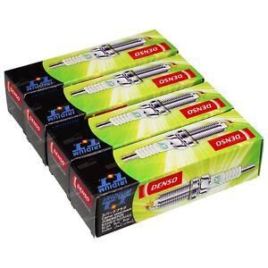 Set of 4 Denso Iridium Spark Plugs suits Honda HR-V GH 4cyl D16W1 1.6L 99~01