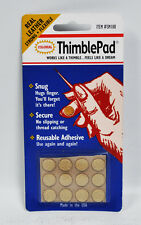 Colonial Thimblepad Leather Adhesive Thimble