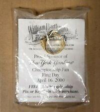 NEW YORK YANKEES (MLB BASEBALL) CHAMPIONSHIP FAN RING DAY APRIL 16, 2000