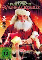 DVD-BOX NEU/OVP - Die grosse fantastische Weihnachtsbox - 9 Filme - 3 DVDs