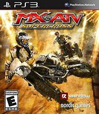 MX vs. ATV SUPERCROSS PS3 NEW! MOTORCROSS, FOUR WHEELER, DIRT, MUD, BIKES, RACE