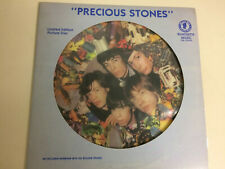 THE ROLLING STONES INTERVIEWS PICTURE DISC PRECIOUS STONES with shaped cover