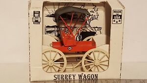 Allis Chalmers Surrey Wagon 1/16 die-cast wagon replica by Scale Models