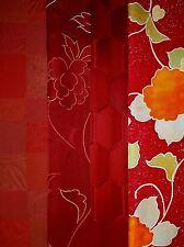 Vintage Japanese Silk Kimono Fabric Lot Quilting Patchwork