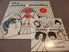"THE MOLDY PEACHES - s/t - LP ltd.red Vinyl + 7"" /// Neu /// incl. CD"
