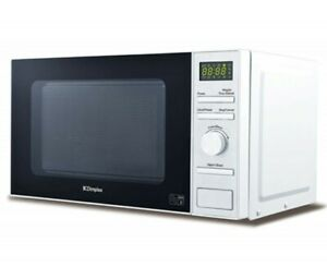 Dimplex 980534 20 Litre 800W White Microwave Oven Stainless Steel Interior