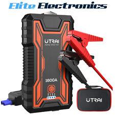 UTRAI 16000mAh Car Jump Starter Power Pack Battery Charger Emergency LED Light