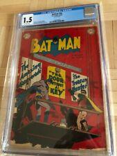 BATMAN# 54 CGC 1.5 OFF WHITE PAGES