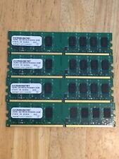 Micron 8GB RAM (4X 2GB Kit) DDR2 PC5300 PC2-5300 667MHz Desktop Memory 240-Pins