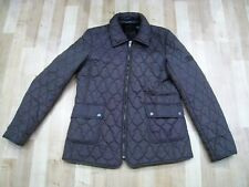 DKNY ACTIVE ladies brown quilted jacket. Size M, UK 12.