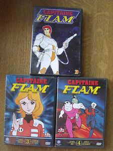 LOT DE 3 DVD CAPITAINE FLAM