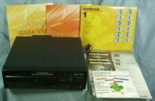 Pioneer CLD-D505 Laser Disc Player & 10 Karaoke Laserdiscs 19I030