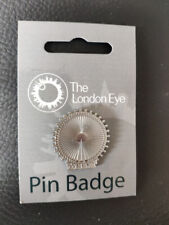 THE LONDON EYE Pin Badge Merlin BRAND NEW - LONDON EYE 2015