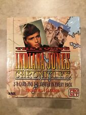 1992 The Young Indiana Jones Chronicles Trading Cards Sealed Box 36 packs.
