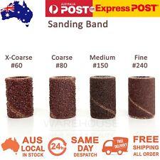 Sanding Band Ring Nail Drill Filing Bit Sandpaper Mandrel Manicure 60 80 150 240