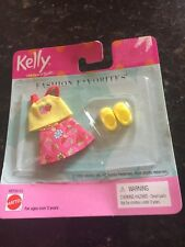 Barbie Kelly Tommy Ryan Friends Doll Clothes Set  Skirt Shirt  Strawberry Shoes