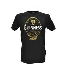 Guinness T-Shirt With Foreign Extra Label In Gold, Black Colour