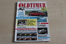 164150) Opel Kadett B - Jaguar E-Type - Oldtimer Magazin 10/1991
