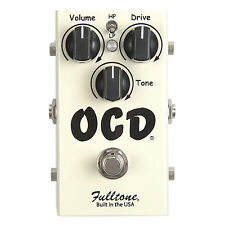 NEW Fulltone OCD Overdrive Distortion PEDAL Obsessive Compulsive Drive Version 2