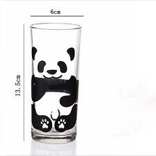Fat Panda milk Glass cup Tea Mug 300ml