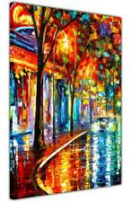 AT54378D Night Cafe By Leonid Afremov Canvas Art Pictures Artwork Abstract Print