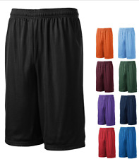 Men Mesh Shorts 2 Pockets workout Jersey pants Soft Basketball Gym Fitness S-5XL